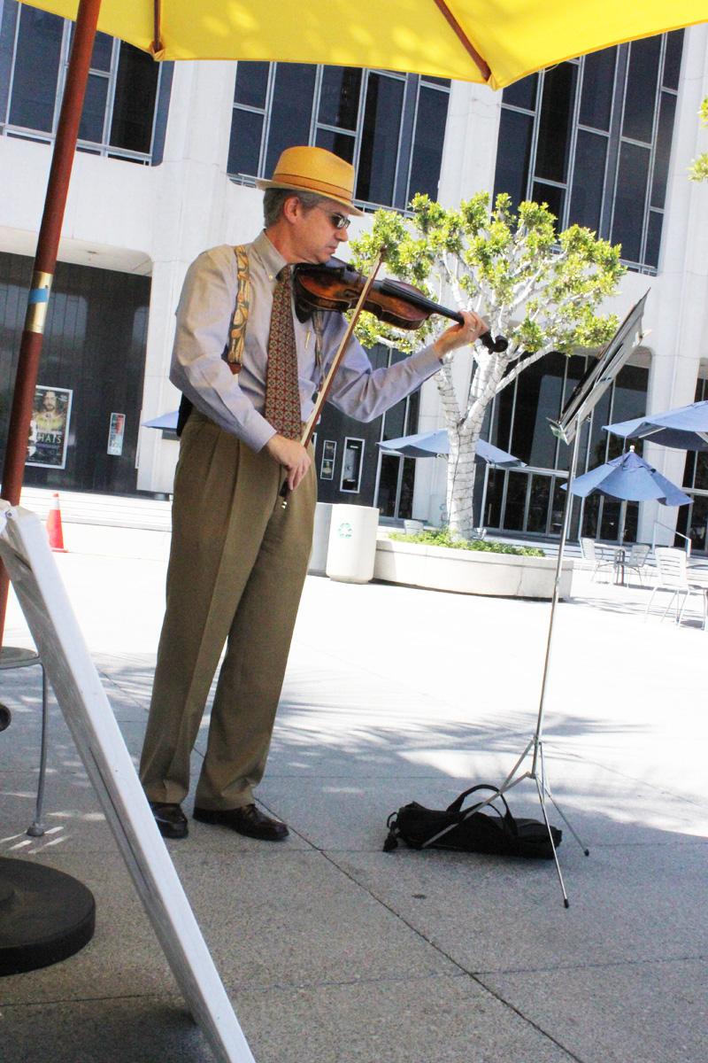 Public Practice - Violin