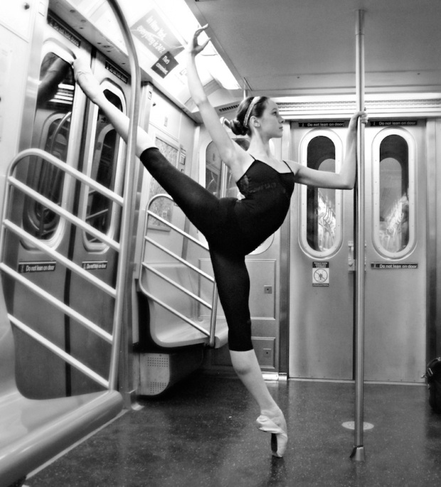 Ballerinas Love Metro! image source