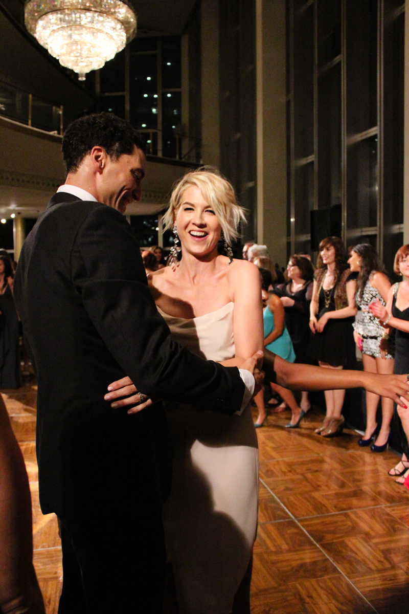 A Celebration of Dance After Party at The Music Center - Jenna Elfman & Fabrice Calmels