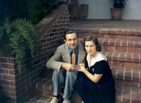 Walt Disney and Lilian Disney
