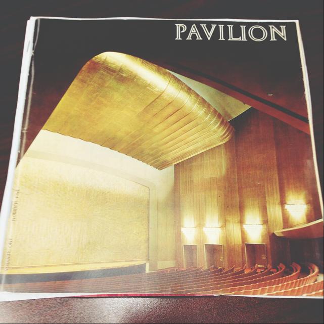 Pavilion Magazine Cover