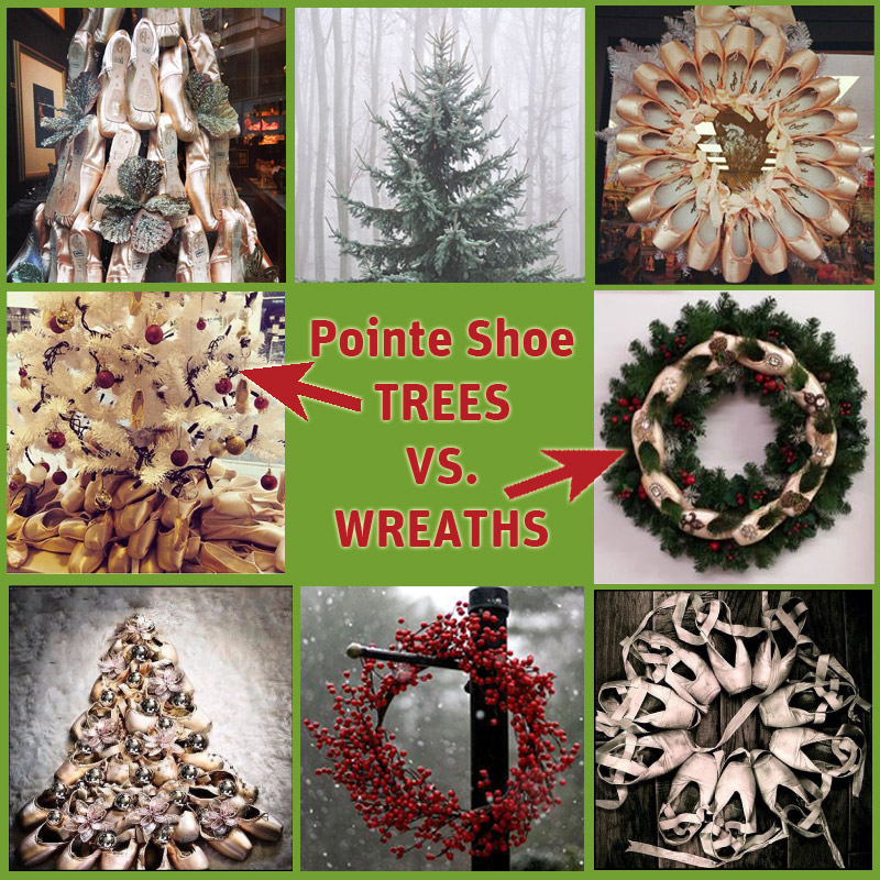 PointeShoeTreesNWreaths