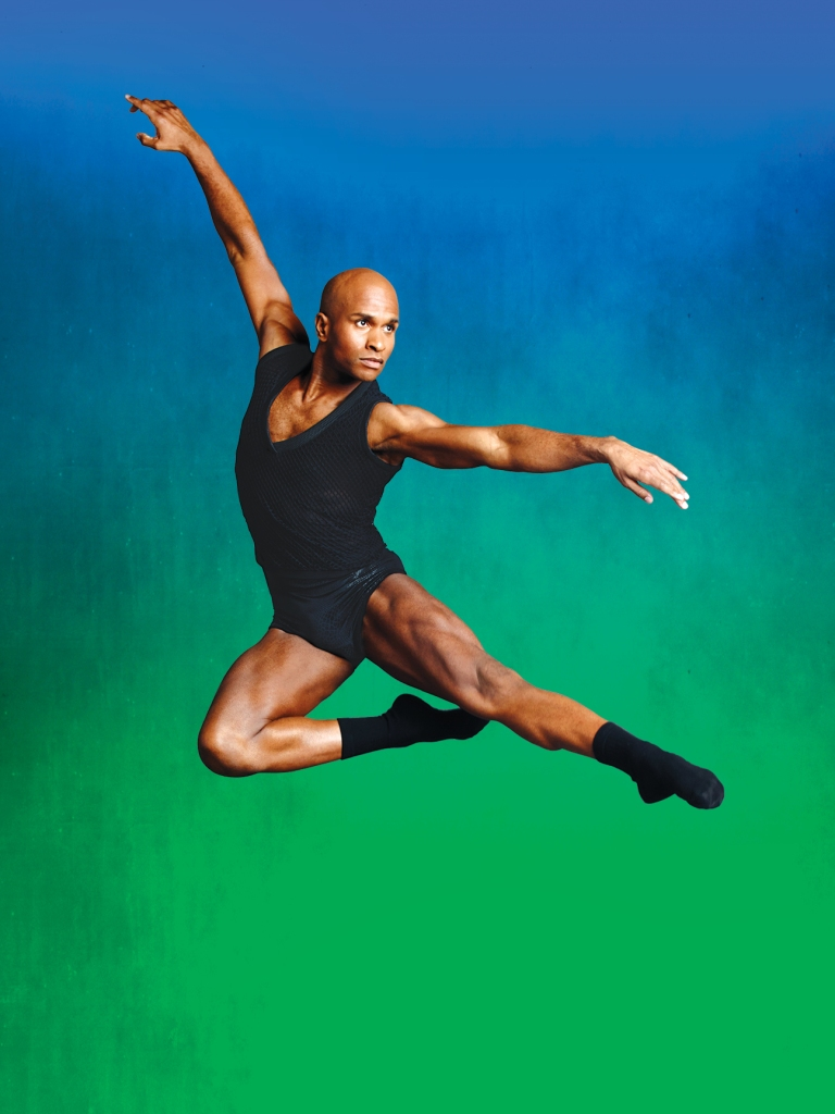 Glenn Allen Sims. Alvin Ailey Dance Theater -  Photo by Andrew Eccles