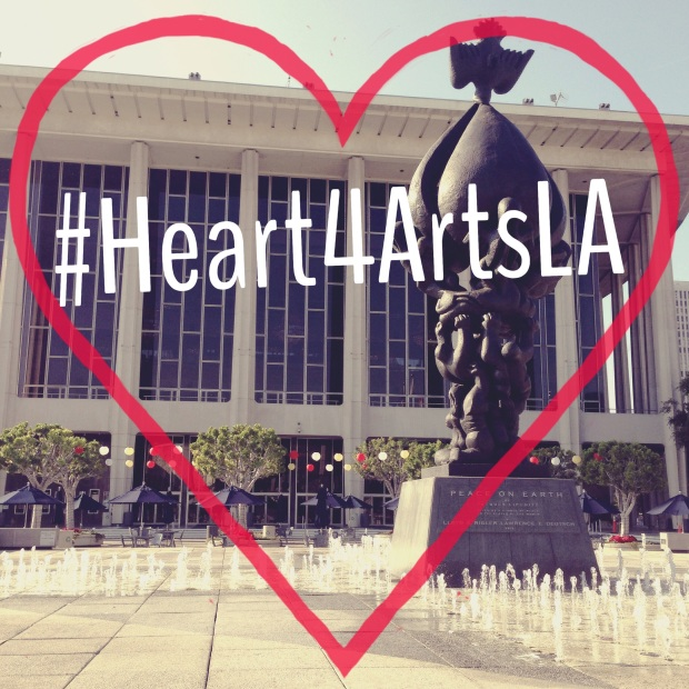 #Heart4ArtsLA