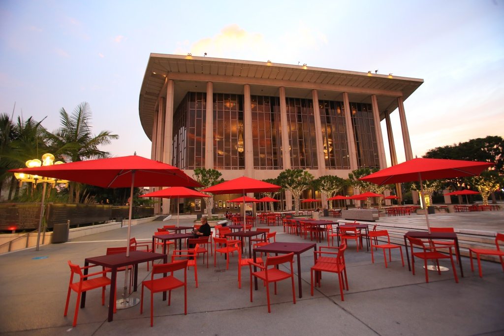 The Music Center Plaza Furniture