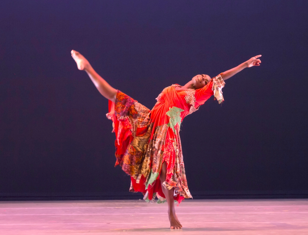 AAADT'S Hope Boykin in Matthew Rushing's ODETTA  Photo by Steve Wilson