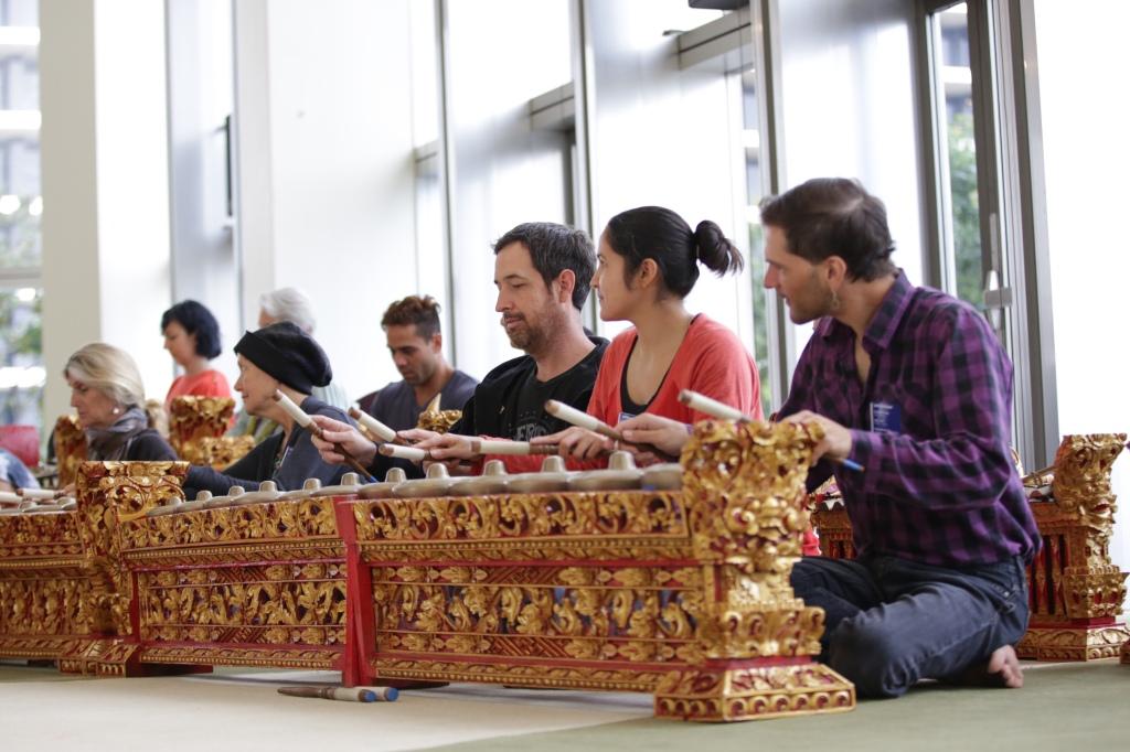 The Music Center Gamelan Workshop