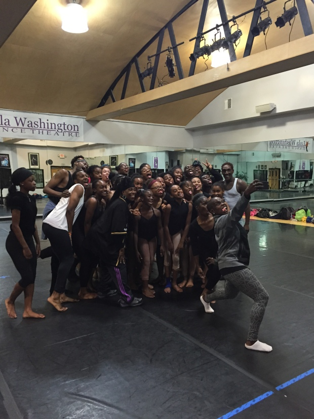 Master Class at Lula Washington Dance Theater