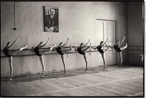Students at Vaganova School